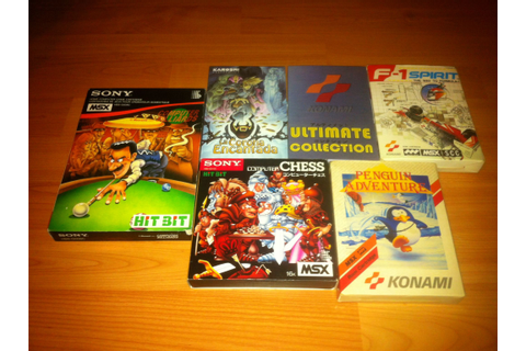 MSX Complete Games for sale | MSX Resource Center