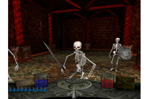 Stonekeep: Bones of the Ancestors (WiiWare) Screenshots