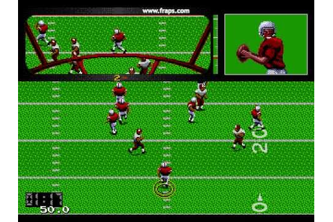 Joe Montana Football Sega Genesis - YouTube