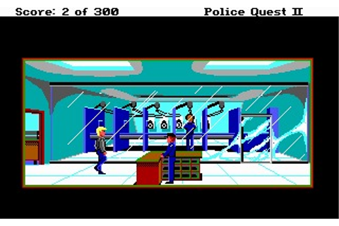 Police Quest II: The Vengeance (Amiga) Game Download