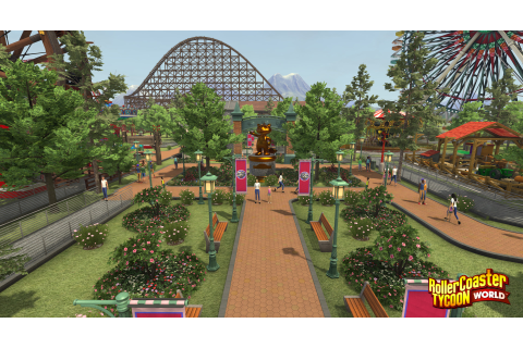 Download RollerCoaster Tycoon World: Deluxe Edition Full ...