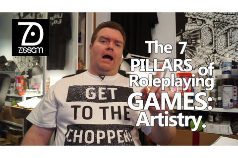 7 Pillars of Role-playing Games: Artistry - YouTube