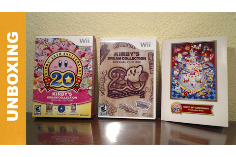 Kirby's Dream collection ''Special edition'' 20th ...