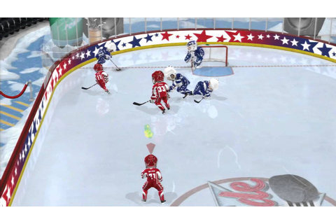 3 On 3 NHL Arcade - PS3 - 1st Game - YouTube
