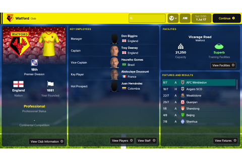 Football Manager Touch 2018 Review (Switch eShop ...