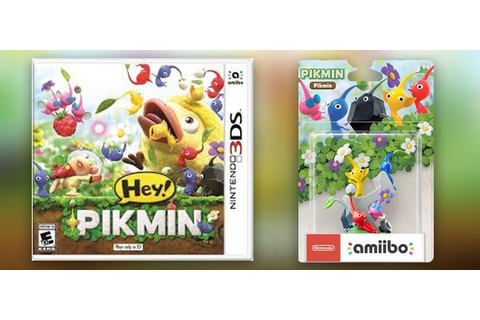 Hey! Pikmin 3DS gets first Trailer, Amiibo and more - My ...