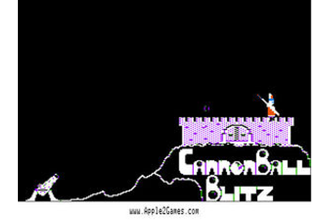 Cannonball Blitz - Apple2Games