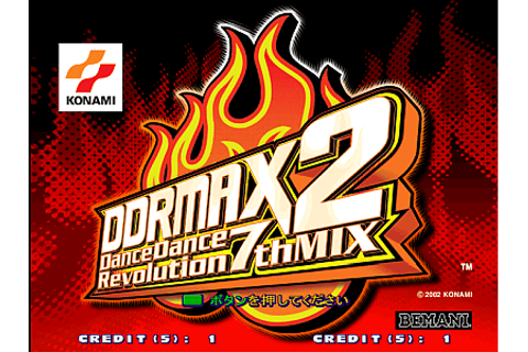 DDRMAX2 Dance Dance Revolution 7thMix arcade video game by ...