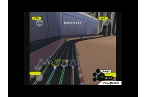 Grooverider: Slot Car Thunder GameCube Gameplay - Whoa ...