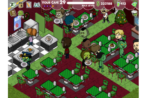 Supervise the undead in Zombie Cafe for iOS and Android