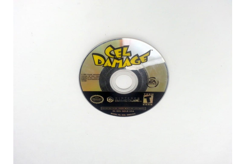 Cel Damage game for Nintendo Gamecube - Loose - TheGameGuy.ca