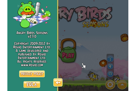 Angry Birds Seasons v2.3.0 | My Cool PC Games