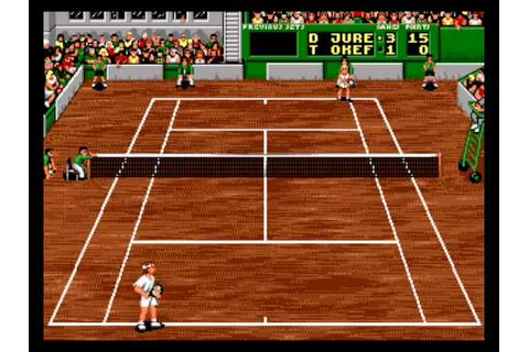 Sega Mega Drive: Pete Sampras Tennis - YouTube