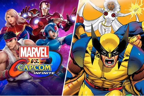 Deadpool, Wolverine and X-Men not part of Marvel Vs Capcom ...
