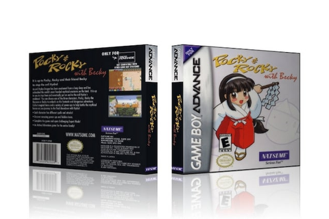 GBA Pocky & Rocky with Becky Collector's Game by ...