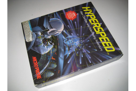 "RetroGamesShop - Hyperspeed (MicroProse) PC 5 1/4"" Disk"