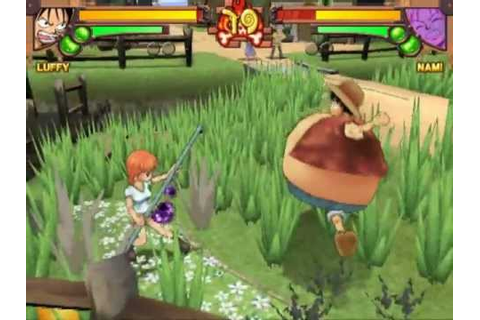 One Piece: Grand Battle! (PS2 Gameplay) - YouTube