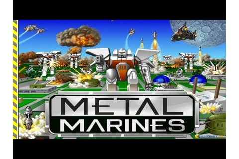 Metal Marines gameplay (PC Game, 1994) - YouTube