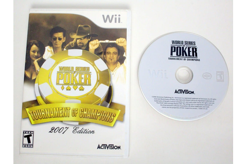 World Series of Poker Tournament of Champions 2007 game ...