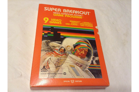 ATARI 2600 7800 GAME SUPER BREAKOUT 1981 *Brand NEW Old ...