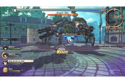 Strategy RPG Valkyria Revolution deploys in Europe on 30th ...