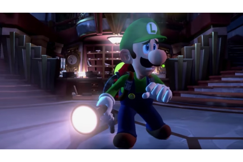 Luigi's Mansion 3 announced for Nintendo Switch ...