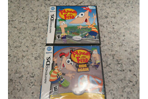 Phineas and Ferb 1 & 2:Ride Again (Nintendo DS)3DS Both ...