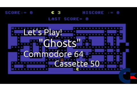 Ghosts (Commodore 64 Cassette 50 Game 34) - YouTube
