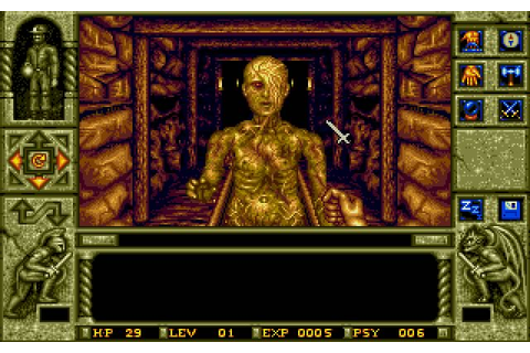 WaxWorks adventure for DOS (1992) - Abandonware DOS
