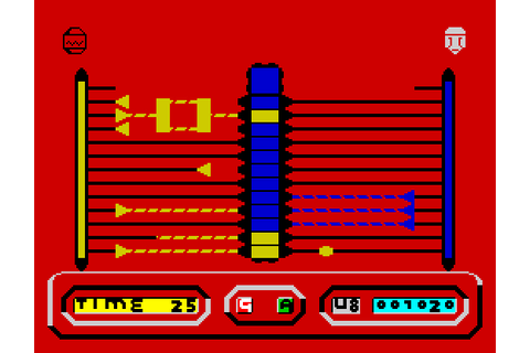 My all time favourite video games: Quazatron - Sinclair ...
