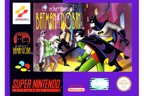 The Adventures of Batman & Robin (SNES) | Batman:The ...