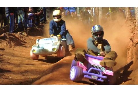 EXTREME BARBIE JEEP RACING 2012 - YouTube