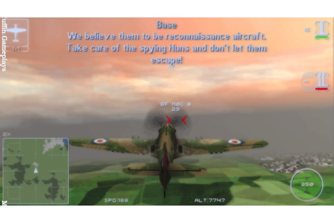 IL 2 Sturmovik Birds of Prey PSP Gameplay - YouTube