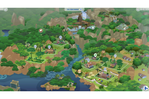 The Sims 4 Jungle Adventure: Selvadorada Overview