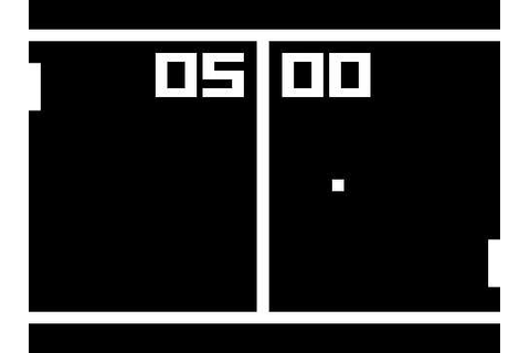 Pong - Classic computer game - YouTube