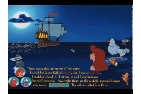 Ariel's Story Studio - The Little Mermaid Animated Story ...