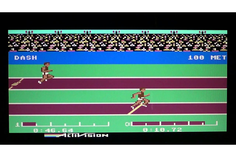 C64 Commodore 64 Decathlon - YouTube