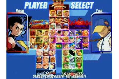 Capcom fighting jam screen pack for mugen! - YouTube