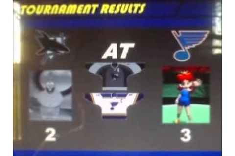 NHL FaceOff '99 Tournament 2 Part 12 (Final) - YouTube