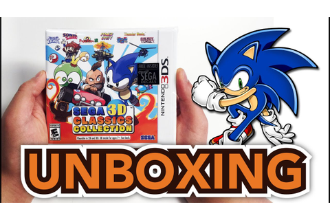 Sega 3D Classics Collection (Nintendo 3DS) Unboxing ...