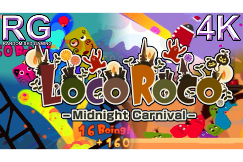 LocoRoco Midnight Carnival - PSP - Intro & Stages 1-4 ...