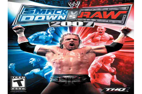 WWE SmackDown Vs Raw 2007 Game Download Free For PC Full ...