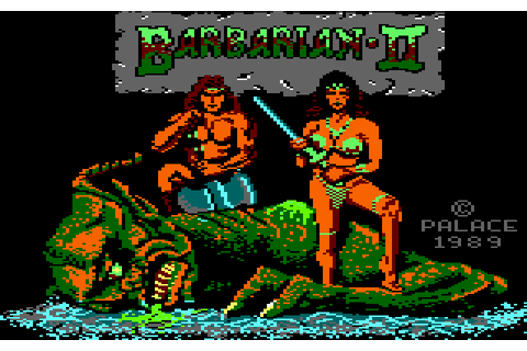 Barbarian II: The Dungeon of Drax (1989) by MC Lothlorien ...