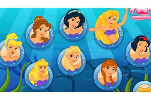 Disney Princess FROZEN - Mermaid Princess - Disney ...