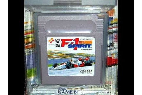 F-1 Spirit (F1スピリット) - BGM 07 - SOUNDTRACK - GAME BOY ...