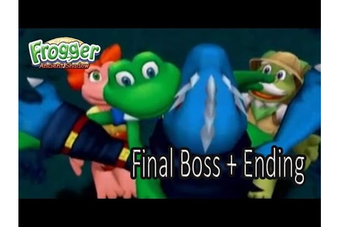 Frogger Ancient Shadow: Final Boss + Ending - YouTube