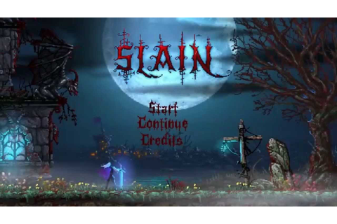 Slain - Official Xbox One Debut Trailer (2015) 8Bit Game ...