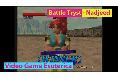 Battle Tryst - Nadjeed Gameplay - 3DO M2 - Video Game ...
