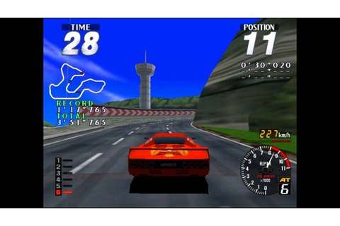Ridge Racer/ Rave Racer (ARCADE) - YouTube