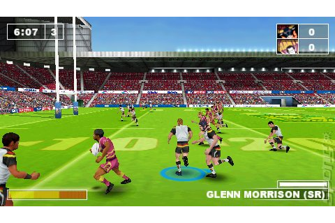 Screens: Rugby League Challenge - PSP (1 of 4)